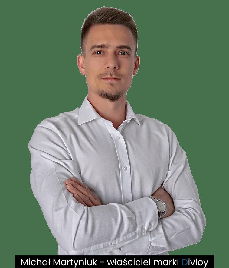 Michał Martyniuk - właściciel marki Divloy